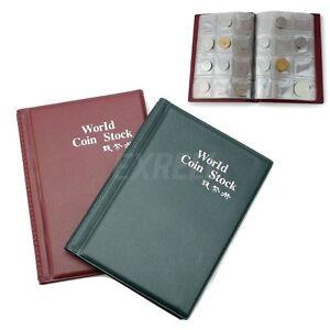 Raccoglitore-Album-120-Posti-Collezione-Monete-Portatile-153x110mm-OFFERTA