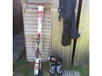Complete ski set