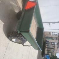 Compact tractor / ATV Dump Trailer