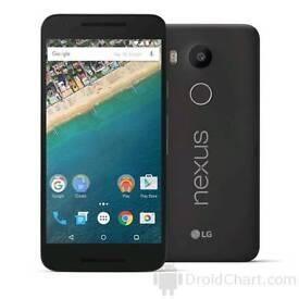 Nexus 5x , 32gb , unlocked. Excellent condition