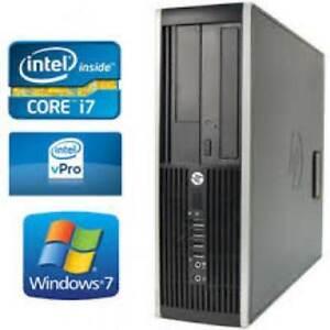 10 gig Ram HP Elite Intel Quad Core i7 HDMi 750gb Hard Drive Gaming Computer WiFi Win 10 Intel HD Graphics $300