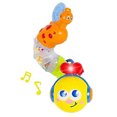 Baby Toys Musical Twisting Worm Rattle Toy Brinquedos Kids Early Educational Toy comprar usado  Enviando para Brazil