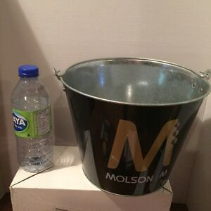 VINTAGE MOLSON ICE BUCKET BEER HOLDER(1990's) West Island Greater Montréal image 5