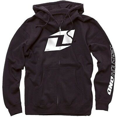One Industries Mens Icon Hoodie Sweatshirt Black MX ATV Off Road Motocross SALE ()