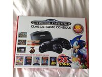 Brand new and sealed Sega mega drive 25th celebration with 80 games built in