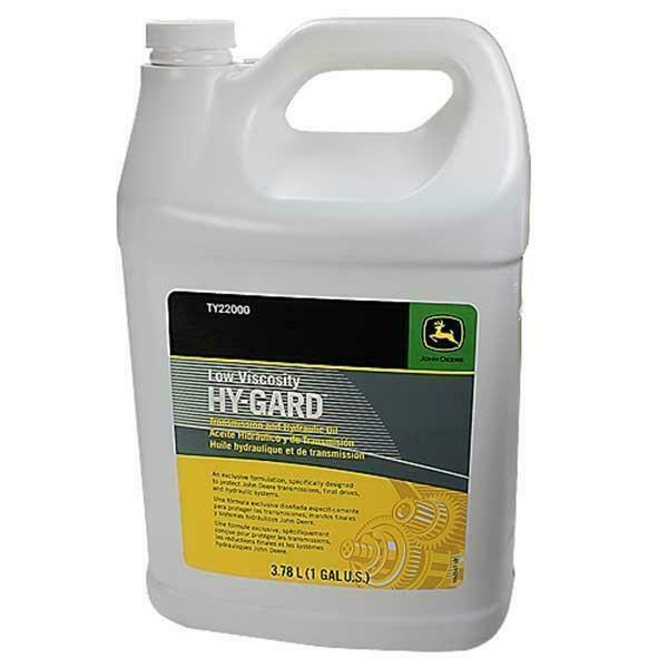 John Deere Original Equipment 1 Gallon Hy-Gard Transmission & Hydraulic Oil #...
