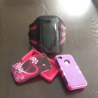 Cell phone arm band holder
