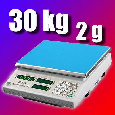 G&G TJ-A 30kg/2g Präzisionswaage Zählwaage Digital-waage