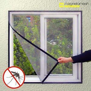 Cortina malla mosquitera universal para ventanas anti - Tela para mosquitera ...