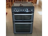 Cooker hotpoint gas/electric