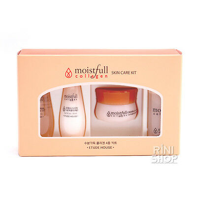 [ETUDE HOUSE] Moistfull Collagen Skin Care Kit(4PCS) Rinishop