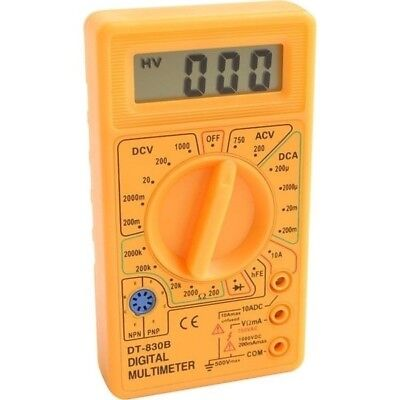 Pocket Digital Multimeter Voltage Tester Checker Ac Dc Diode Continuity Electric