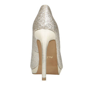 Gold Sparkly Heels from Aldo Size 8- Worn Once! London Ontario image 2