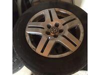 Vw alloy wheels 15 inch
