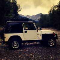 Jeep YJ- AKA : The White Rhino
