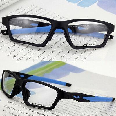 Sport Crosslink SWEEP Eyeglasses Rx Eyewear Frames Black Blue Matter OX8031-0155