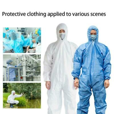 Disposable White Isolation Clothing Protective Clothing Painters Coveralls Suit