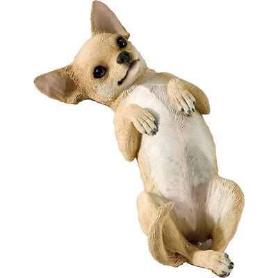 ♛ SANDICAST Dog Figurine Sculpture Chihuahua Tan