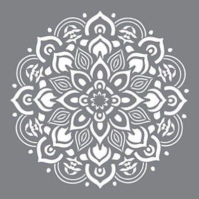 "Americana Decor Stencils-12"" x 12""-Mandala-Decoart"