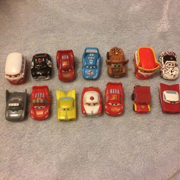 Disney cars minis