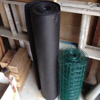 Roll of roofing felt