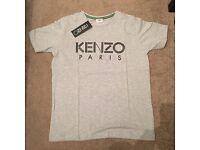 Grey unisex kenzo t-shirt