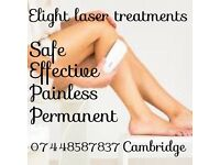 IPL/Elight laser treatments Cambridge