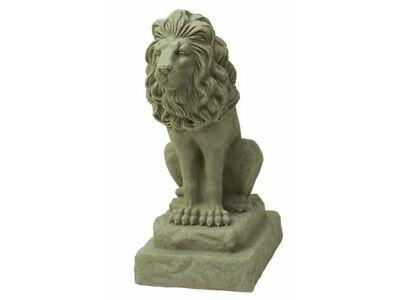 2 Guardian Lion Statue 28in Animal Lawn Yard Garden Art Sculpture Decor Ornament