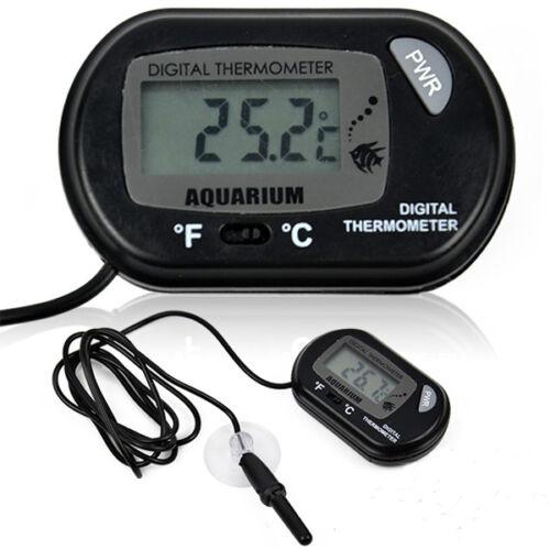 IMPERMEABILE LCD TERMOMETRO DIGITALE TEMPERATURA ACQUARIO FRIGO Vasca acquario