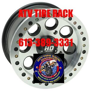 STI HD BEADLOCK RIMs wheels ATV TIRE RACK Lowest Prices Kingston Kingston Area image 2
