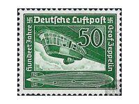 50Pf ** - 100th birthday of Graf Ferdinand von Zeppelin - German Third Reich Stamp 1938