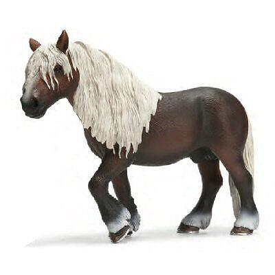 NEW SCHLEICH 13663 Black Forest Stallion Horse - RETIRED