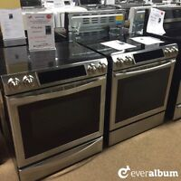 Brand-new Samsung stainless steel stoves