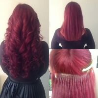 Course for hair extensions/cours d'extansion de cheveux 450$