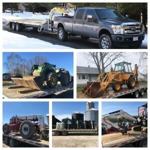 Flatbed Equipment Float & Trailer Delivery