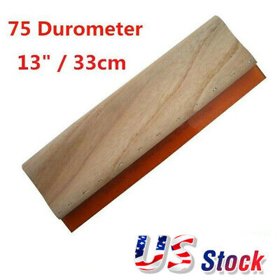 Usa 13 33cm Silk Screen Printing Squeegee Ink Scraper Stencil Printing Diy