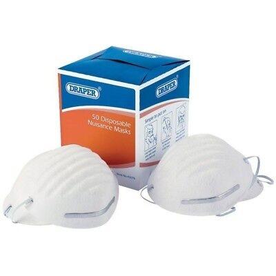Draper 82478 50 Disposable Nuisance Dust Masks