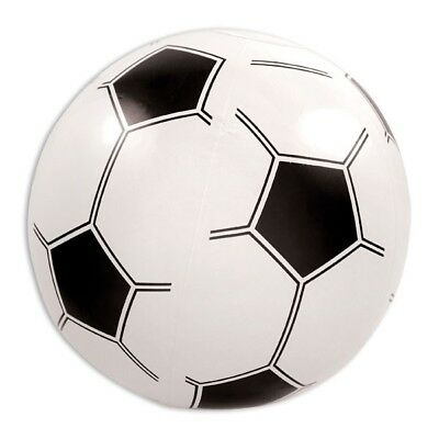 Aufblasbarer FUSSBALL, für Fußball-Fans zum Kindergeburtstag o. Party, Deko-Idee ()