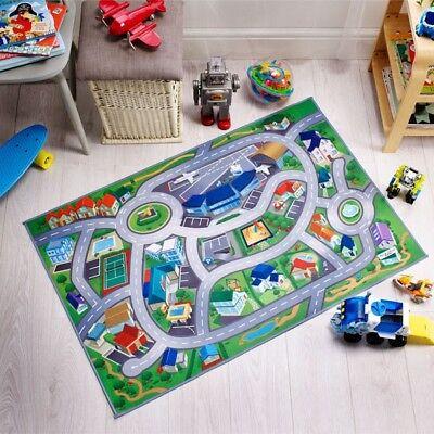 EVA Foam Toy Mat Giant Jumbo Kids Airport Playmat Fun Town Cars Play Road Carpet