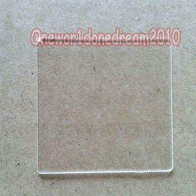 1x Double Side Polished Jgs1 Fused Silica Quartz Glass Sheet Plate 30 X 30 X 1mm