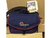 Lowepro nova 4 camera bag.
