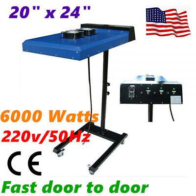 6000w 20 X 24 Silk Screen Printing Automatic Ir Flash Dryer T-shirt Printing