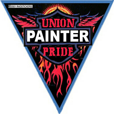 Union Painter Pride Triangle Sticker Cpnt-1