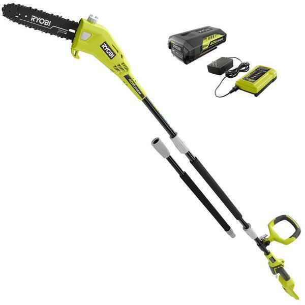 10 in. 40-Volt Lithium-Ion Cordless Battery Pole Saw 2.0 Ah