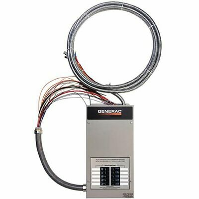 Generac 50-amp Indoor Automatic Transfer Switch W 10-circuit Load Center