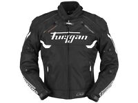 Furygan Motion Lab Titan Textile Jacket - Black / White