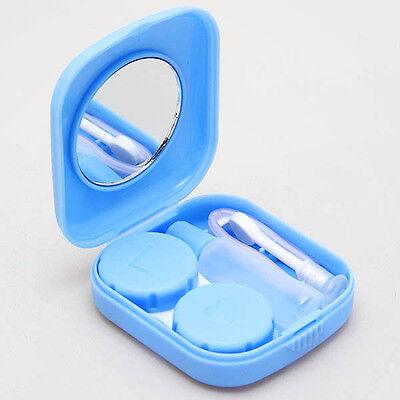 Kontaktlinsenbehälter Kontaktlinsen Behälter Box Aufbewahrung Spiegel + Pinzette
