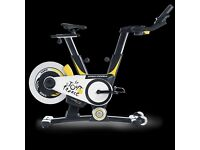 pro Form Le Tour de France static bike with built in power meter