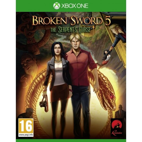 Broken Sword 5 The Serpent's Curse Xbox One Game Brand New