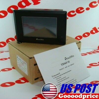 Nib Hmi Th465-mt 4.3in Touch Screen Rs232422485 Com Port Fast Shipping